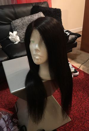 Brazilian Straight 20'22'18 front lace wig.