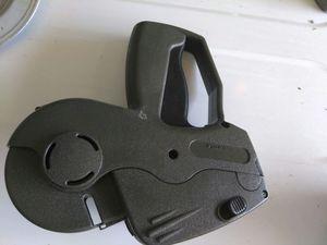 Price marker gun