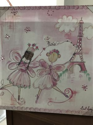 Fairy Princess Canvas Picture