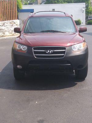 07 Hyundai santa fe limited