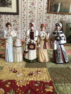 Avon Mrs. Albee annual president's club lady figures