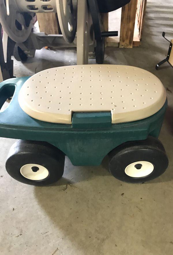Gardening bench on wheels (Home & Garden) in Spokane, WA