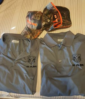 Dodge Ram Hats and Shirts Dryfit Worn Just Once