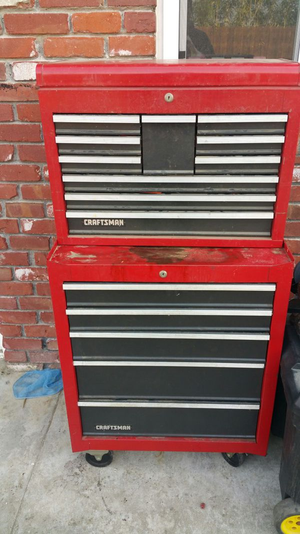 Craftsman tool chest load with tools (Tools & Machinery) in ...