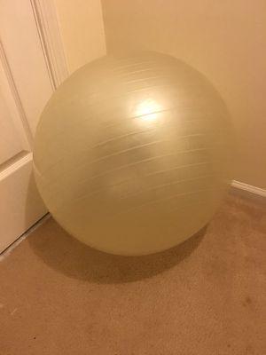 Clear Yoga Ball