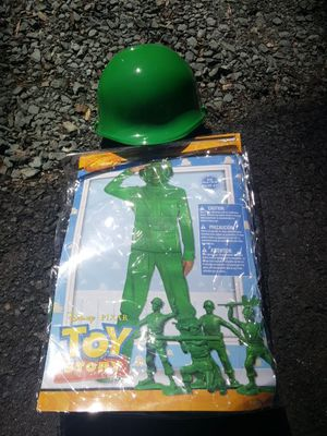 Green Toy Story Army Man (Sarge) Halloween Costume