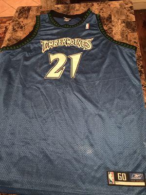 Authentic Reebok Timberwolves Jersey (KevinGarnett21)