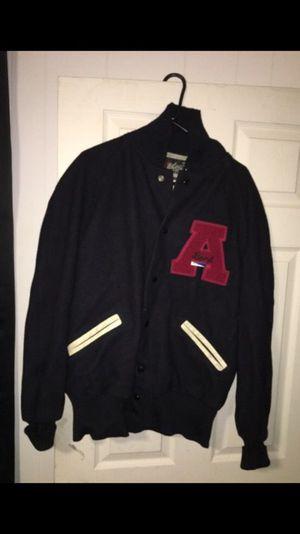 Men's Wool Leterman Jacket - Size 42 (Large)