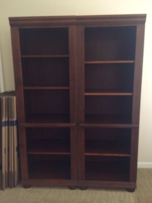 * MUST GO TODAY - Large Bookshelves