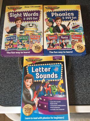 Rock n Learn DVDs