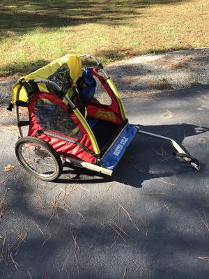 Master Cycle child bike chariot by Healthnet