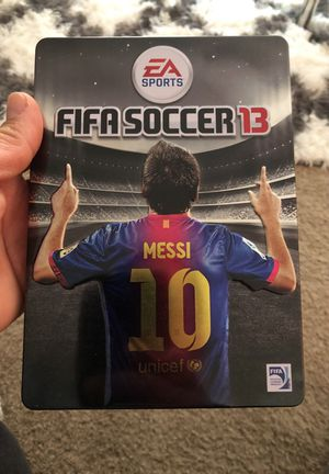 FIFA 2013 metal box special edition Messi
