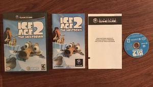 Ice Age 2 The Meltdown- Nintendo Gamecube- Working - W/Manual