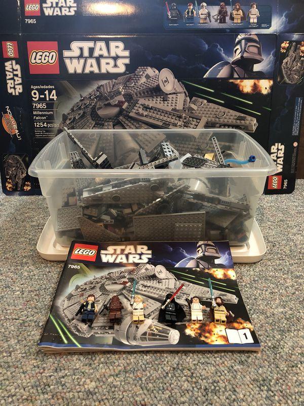 LEGO Star Wars Millennium Falcon 7965 (Games & Toys) in Kirkland, WA ...