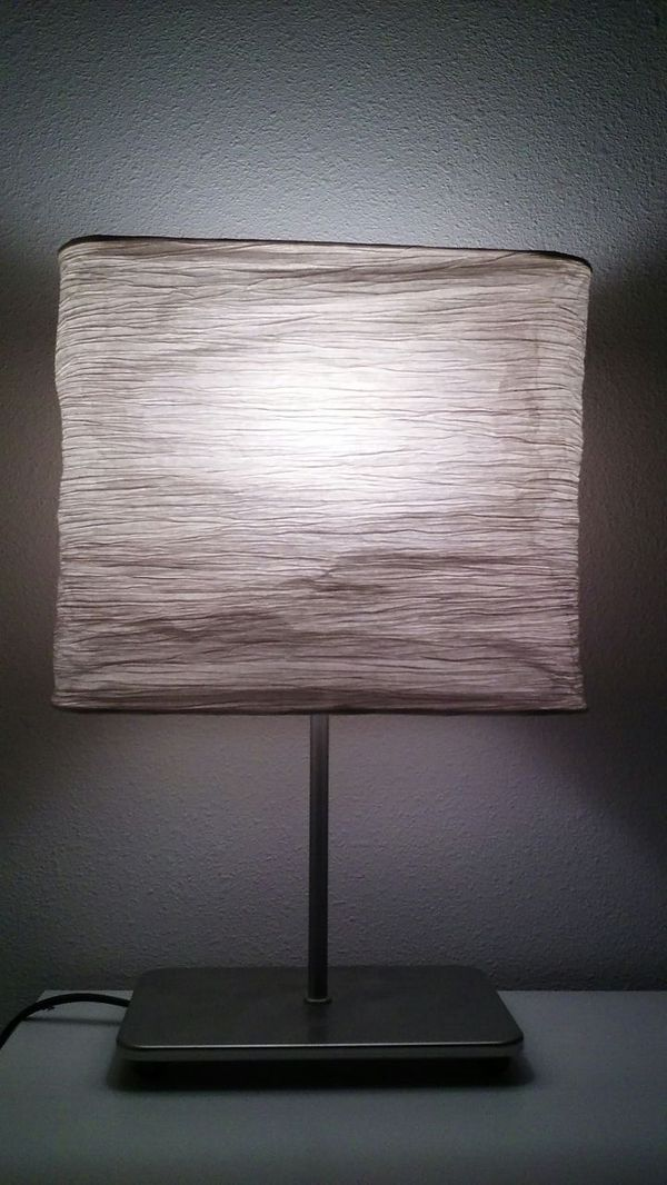 Two ikea paper lamps furniture in federal way wa offerup for Furniture federal way