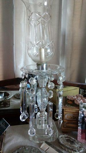 Crystal Hurricane Lamp