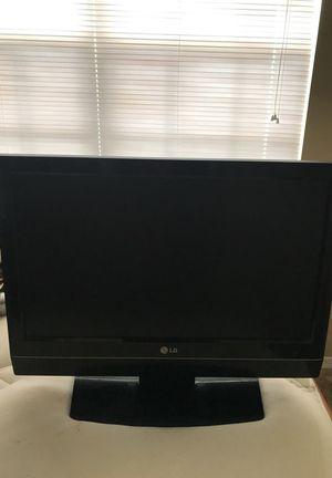 "20"" flat screen LG TV"
