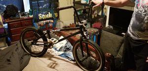 Bmx bike with gyro