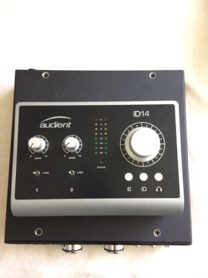 Audient ID14 interface W/ Grace M101 preamp