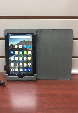 Amazon Fire Tablet w/ Case and Charger