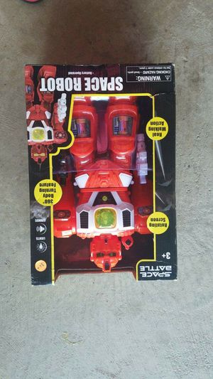 Brand new in box robot toy