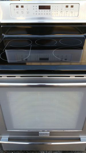 Stove Frigidaire Professional 5 Burners Convection Oven Stainless steel