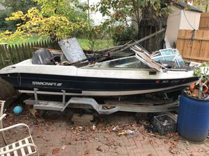 Free boat and trailer with title
