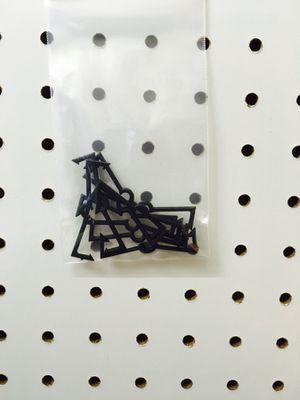 Pegboard Hanger Clip Set