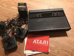Black Atari vintage console