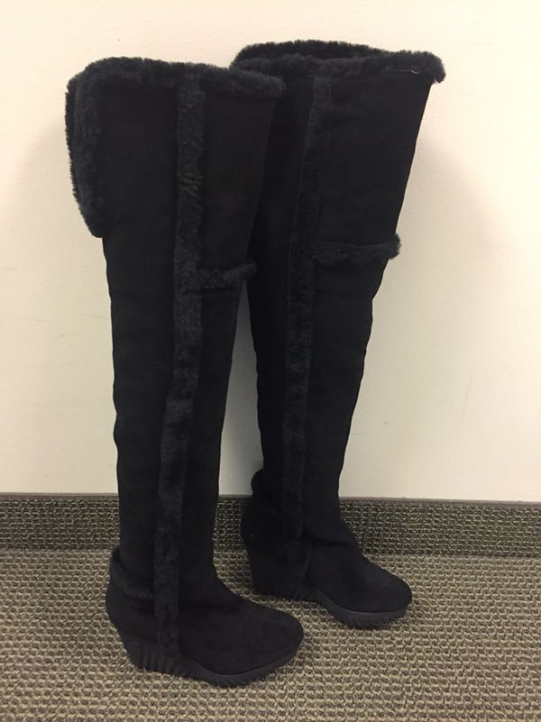 for nice Diane von Furstenberg Heidi Suede Over-The-Knee Boots outlet brand new unisex free shipping low shipping fee free shipping largest supplier sale deals FkY0wa