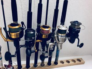 5 shores rod and reels