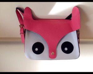 Cute fox crossbody bag
