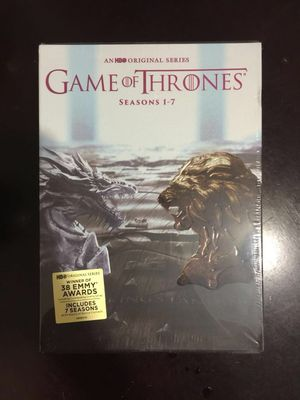 GAME OF thrones DVD set new never open