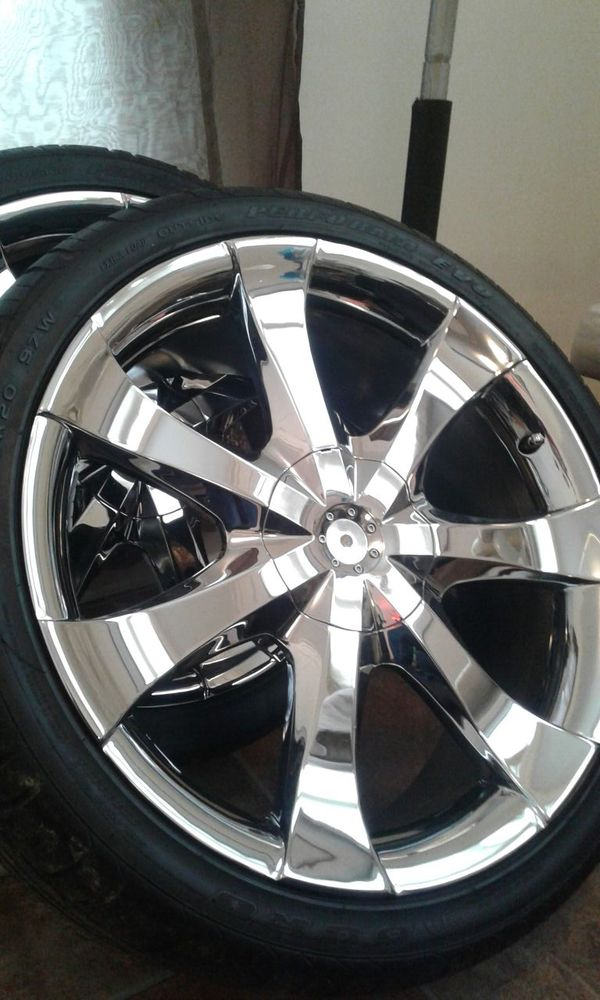 20in rims brand new tires fits old and new school cars (Cars ...