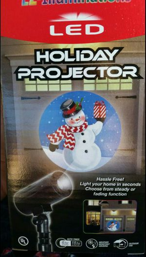 NEW! LED Holiday Projector!