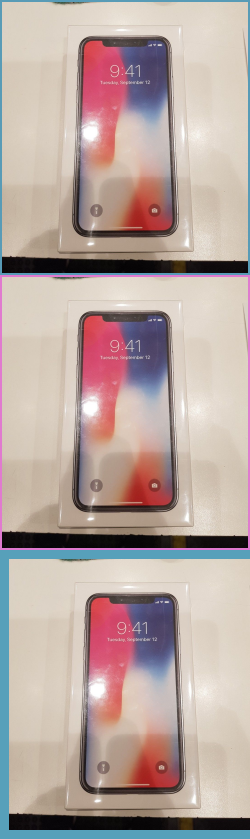 excellent iphone x brand new