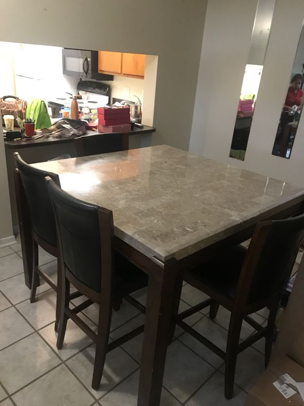 Authentic Marble Dining Table