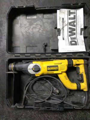 Dewalt rotary hammer