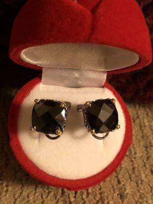 Brand new earrings and ring size 5 ,sterling silver $40 for both