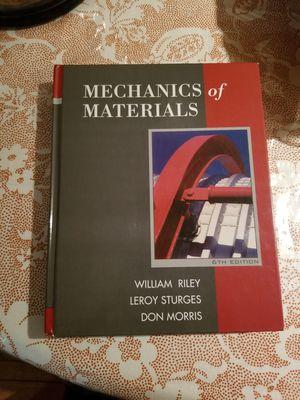 Mechanics Matrial like new