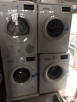 Brand new Bosch Washer and dryer