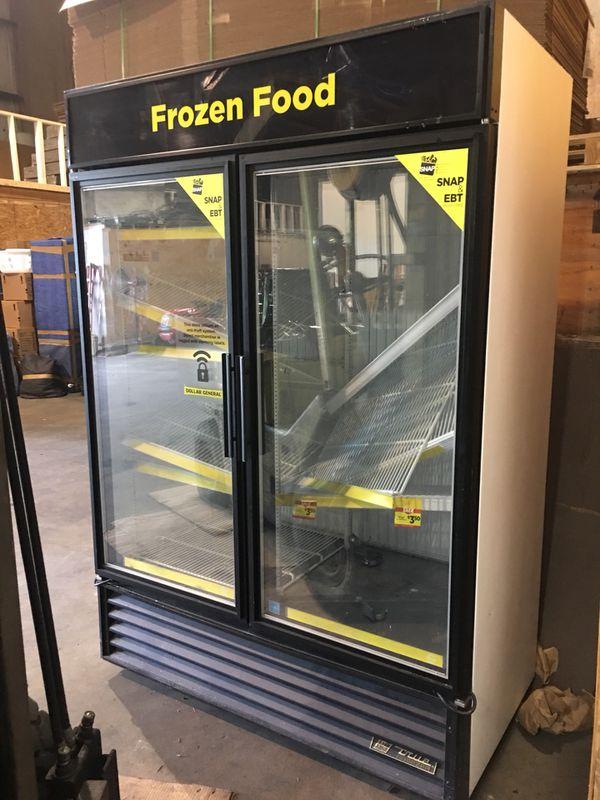 True 2 door glass freezer 1675 business equipment in slidell true 2 door glass freezer 1675 planetlyrics Choice Image