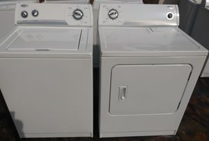 Nice Whirlpool washer and dryer set