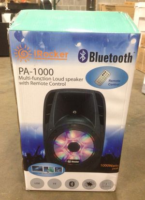 Brand new pa1000 loud speaker with remote control