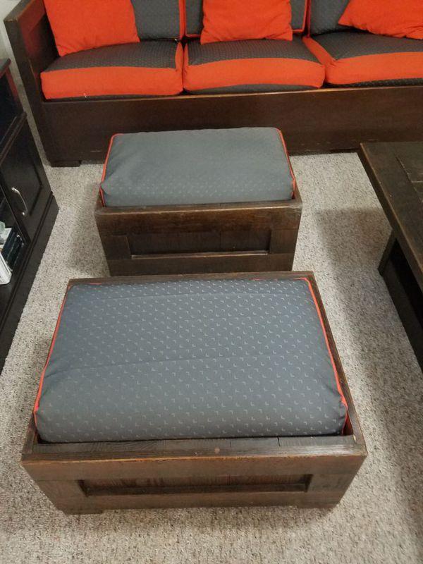 Vendo juego de muebles. Y mueble 3 puestos con sus cojines 2 ...