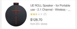 UE Ultimate Ears roll speaker