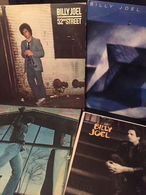 Billy Joel vinyl record album sample pack
