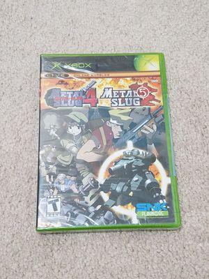 Metal Slug 4/5 Xbox Sealed