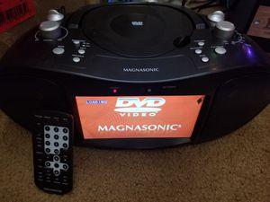 Magnasonic 7inch screen dvd, cd player new