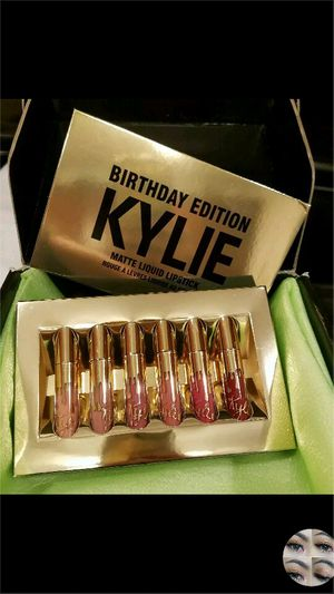 Kylie Jenner Mini Mattes Birthday Edition Lipsticks set